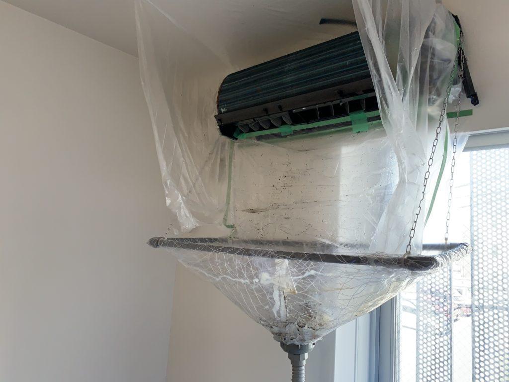 おそうじ本舗 エアコンクリーニング 水漏れは無い